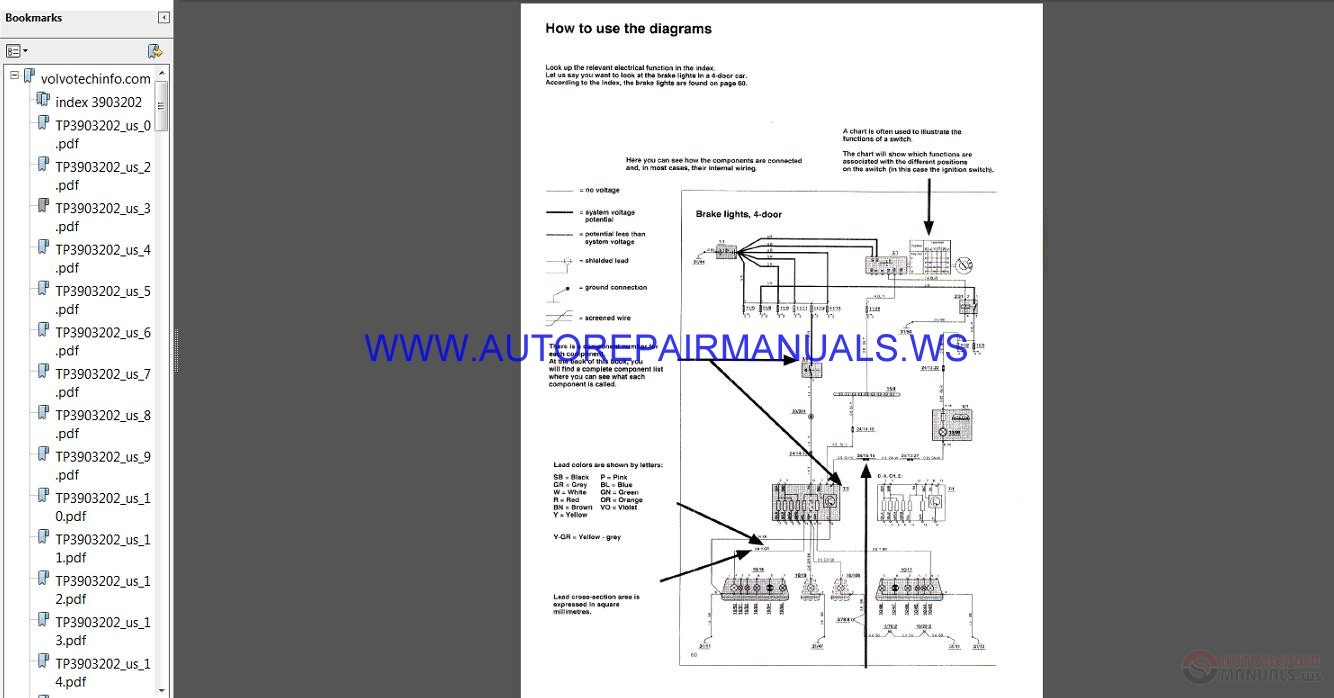 Volvo Sub Wiring Diagram Manual on 1996 volvo 960 transmission wiring diagram