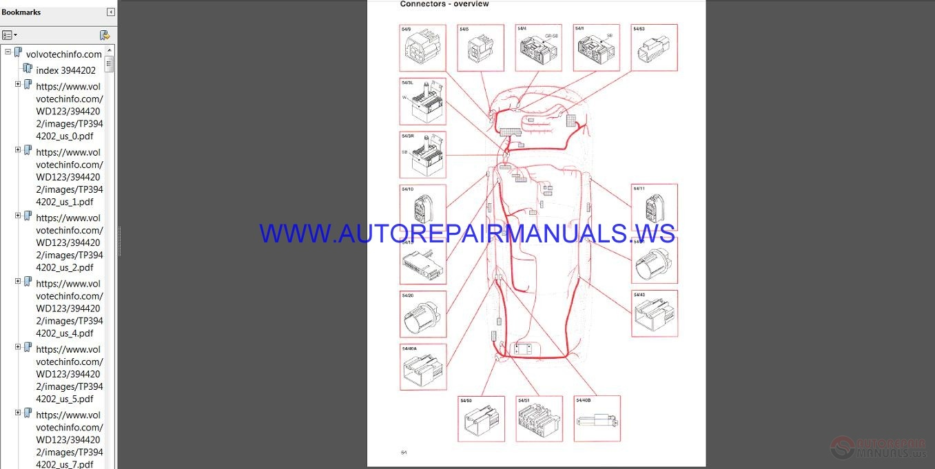 Volvo    SUB    Wiring       Diagram    19942005 Manual   Auto Repair Manual Forum  Heavy Equipment Forums