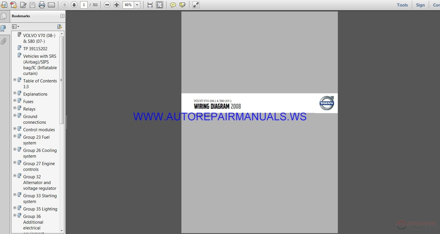 Volvo V70 S80 TP 39115202 Wiring Diagram Manual | Auto ... on volvo ignition wiring diagram, volvo s70 transmission, volvo s70 door, volvo s70 relay, volvo s70 spark plugs, volvo s70 battery, volvo s40 wiring-diagram, volvo s70 rear suspension, 2002 volvo s60 fuse diagram, volvo s70 headlight fuse, volvo s70 safety, volvo s70 ac problems, volvo s70 ignition switch, volvo s70 timing marks, volvo s70 tires, volvo s70 exhaust diagram, volvo amazon wiring diagram, volvo s70 user manual, volvo s70 oil pump, bobcat s70 wiring diagram,