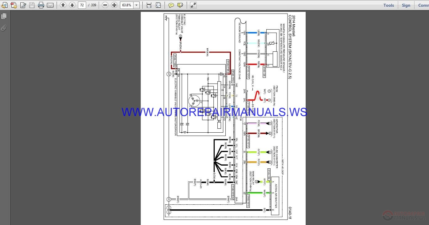 mazda 6 2014 wiring diagram manual auto repair manual. Black Bedroom Furniture Sets. Home Design Ideas