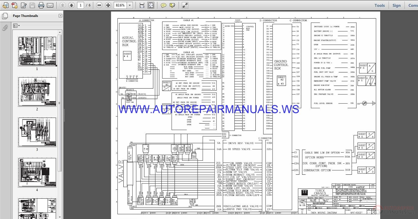 Terex Lift Ta Electrical Schematic Wiring Diagram Parts Manual on John Deere Schematic Wiring Diagram