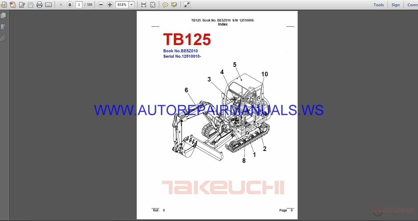 Takeuchi Tb125 Repair Manual This Diagram Illustrates Wiring Up An Offroad Ignition Pn 6470 To A Array Rh Diestetic Com