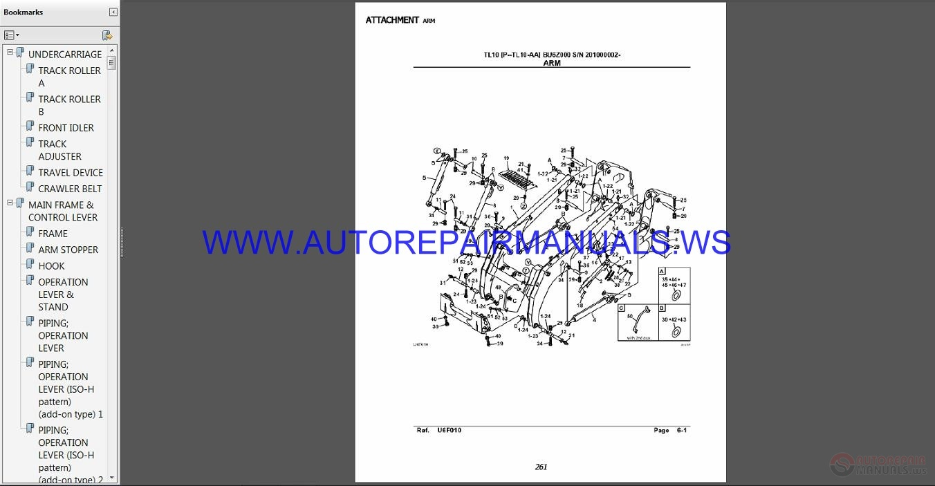 Takeuchi 10 2014 Parts Manual Auto Repair Manual Forum Heavy