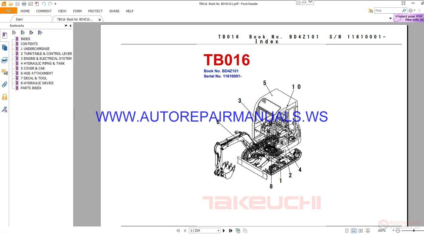 takeuchi tb12 manual