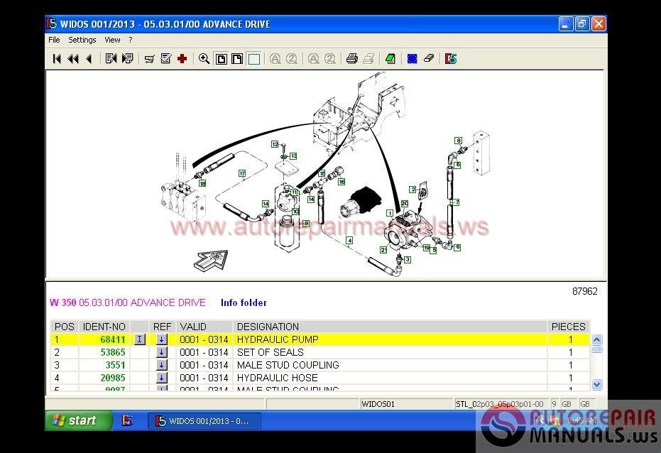 Wirtgen Widos Spare Parts Catalog  01 2013  Full