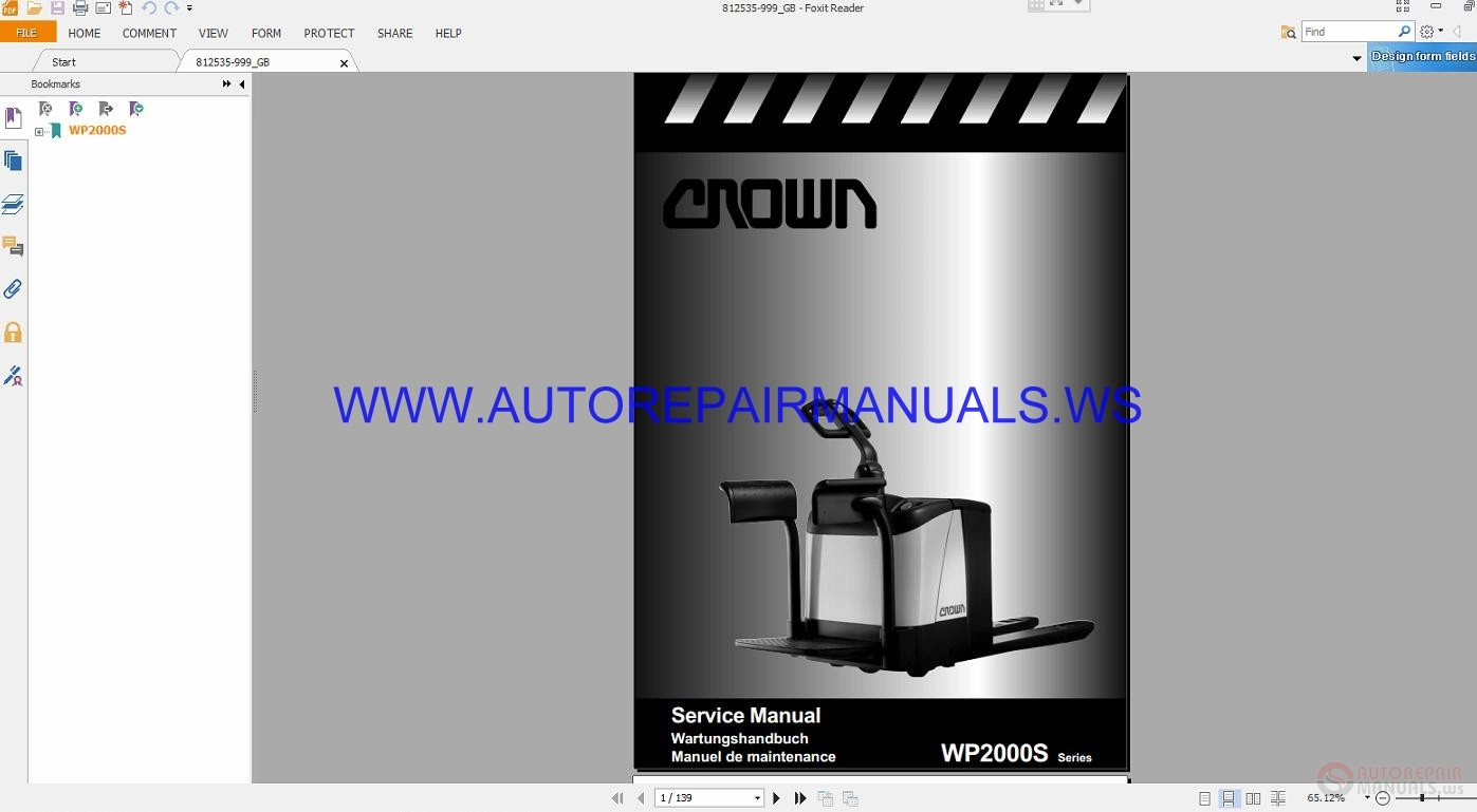 More the random threads same category: Crown Series WF3000 812556-006 Service  Manual ...