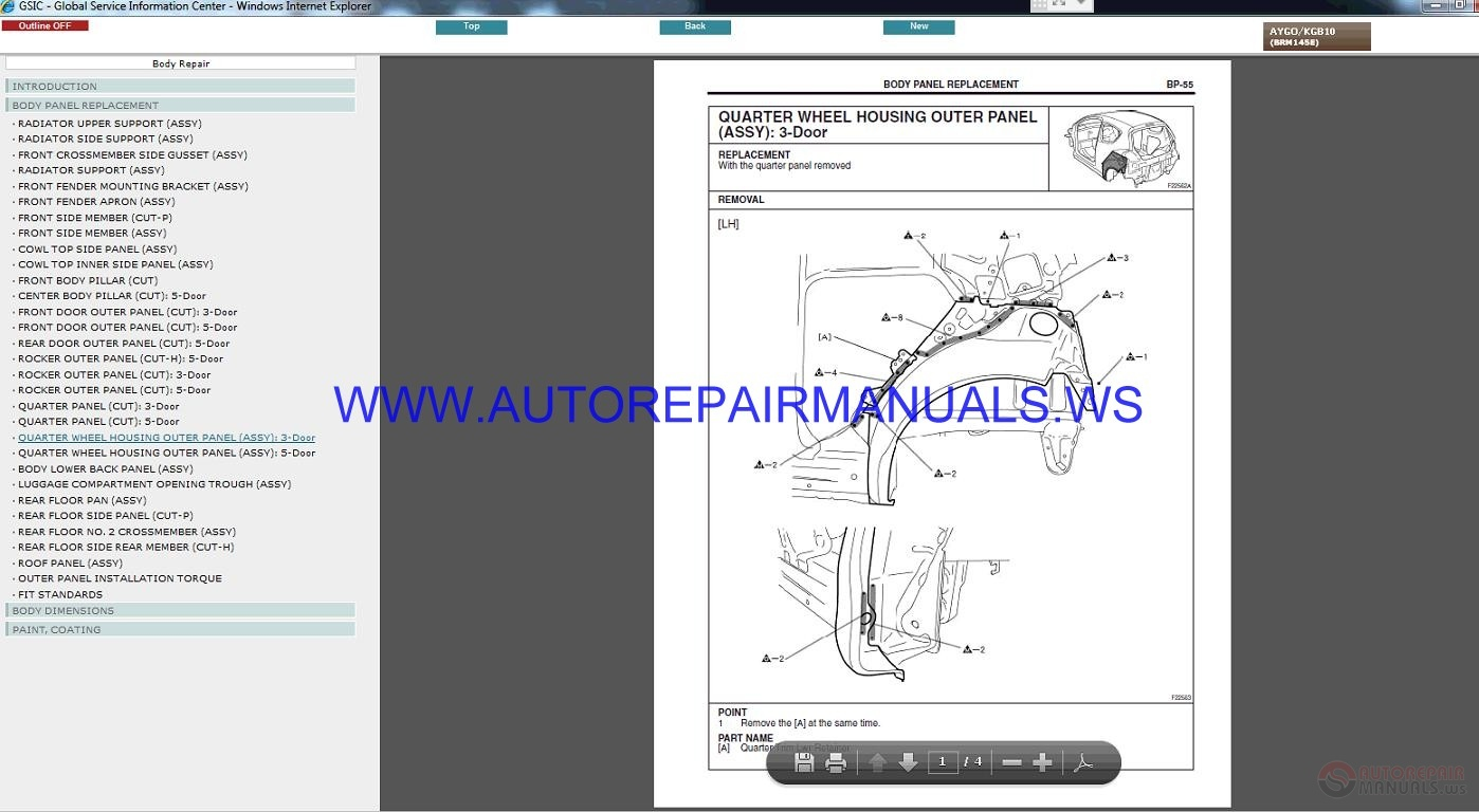Toyota Aygo Kgb Workshop Manual