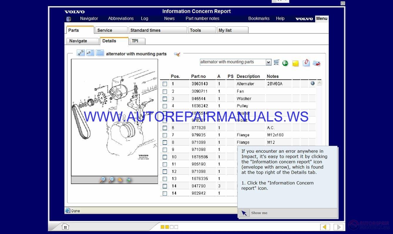 Volvo Impact Self Study Training Cd Image
