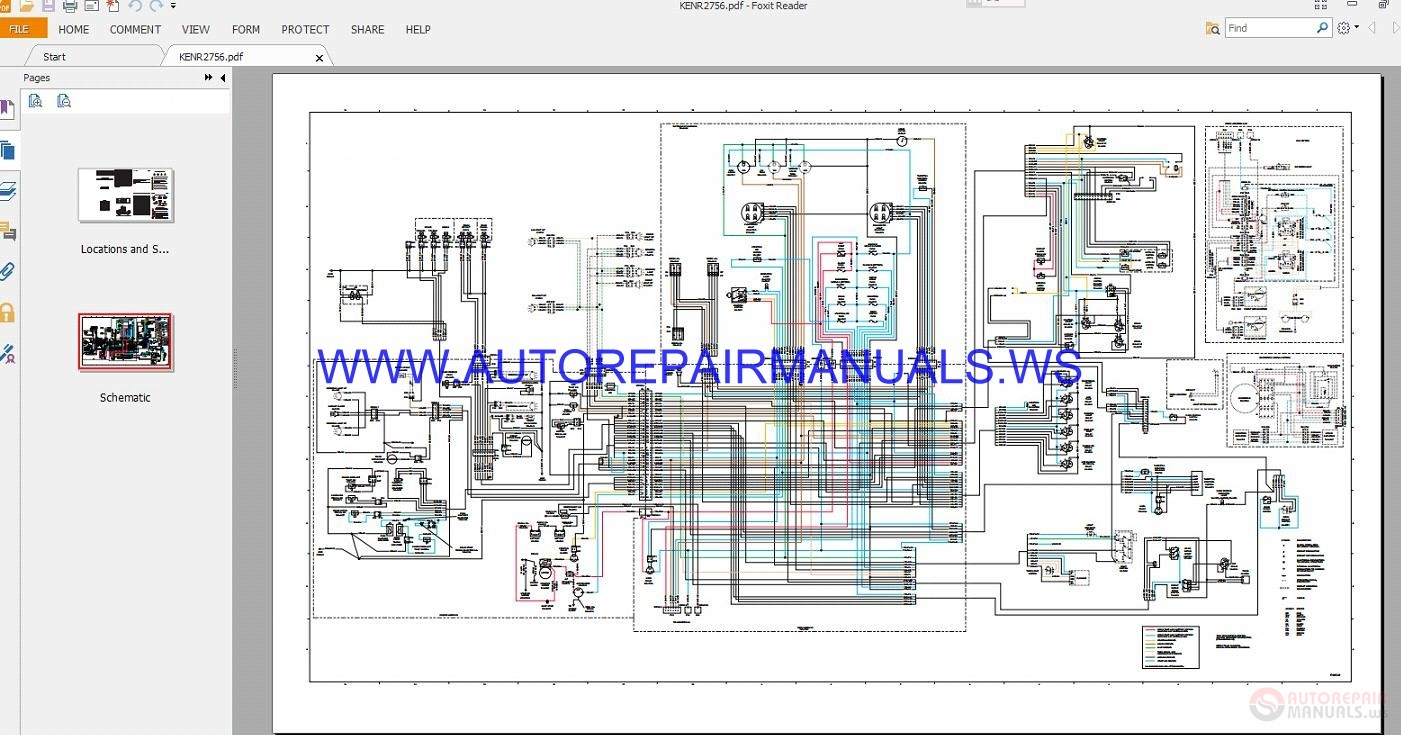 Caterpillar Full Wiring Diagrams Schematics Manual Auto