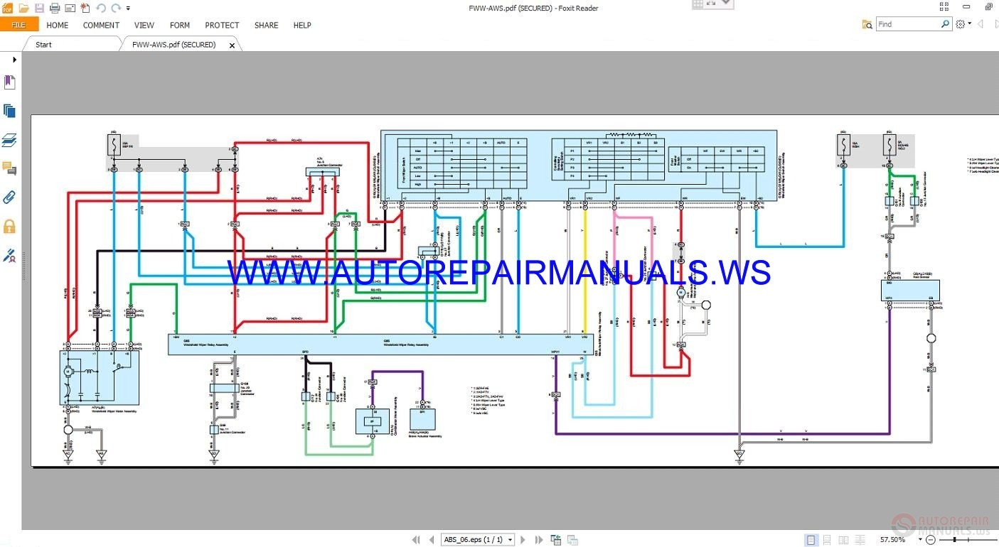 Auto Repair Manuals  Toyota Rav4 Electrical Wiring Diagrams Manual 2013