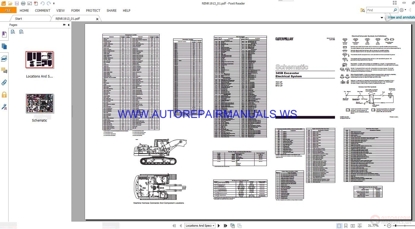 Nice Caterpillar Excavator 320b Hydraulic Schematic Manual Pdf Ideas ...