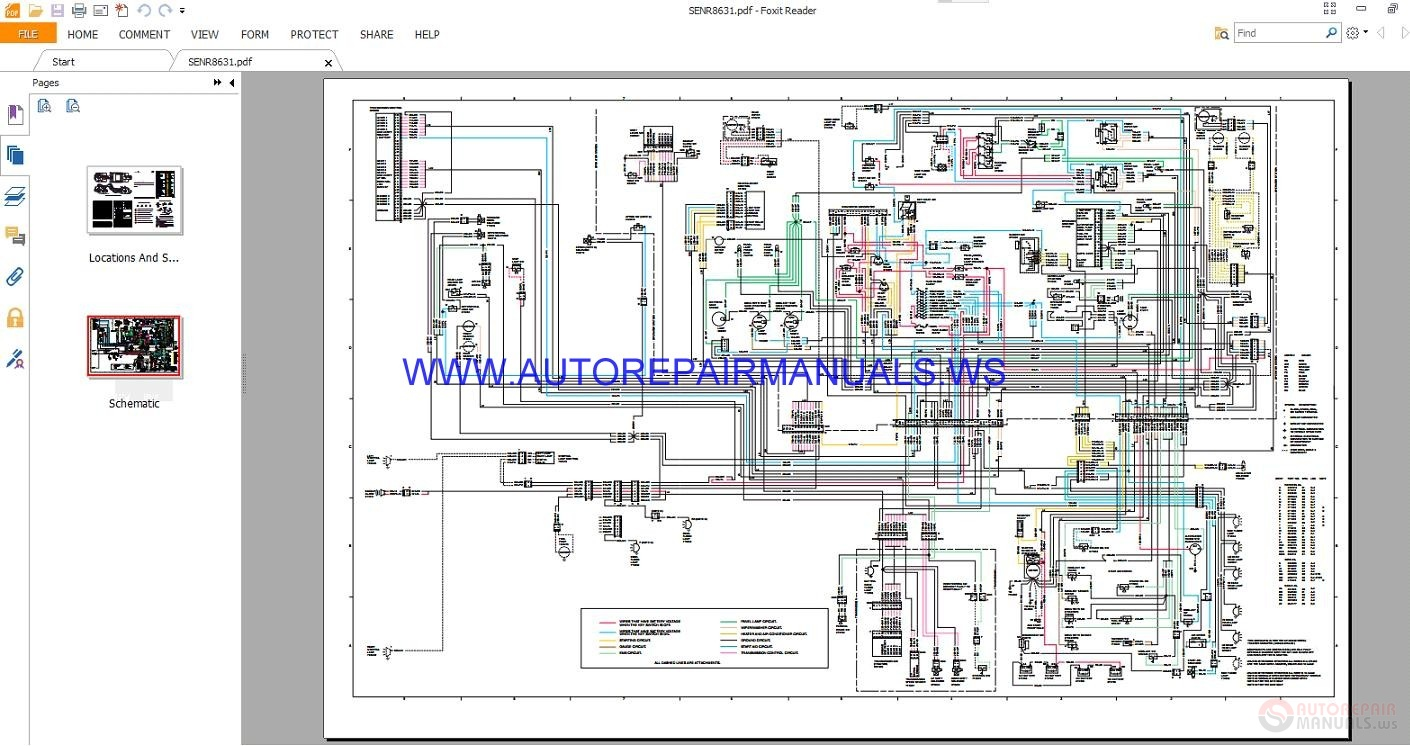 Caterpillar 621e Wiring Diagram Trusted Diagrams Marklift 623e Wheel Tractor Scrapers Electrical Schematics Kobelco