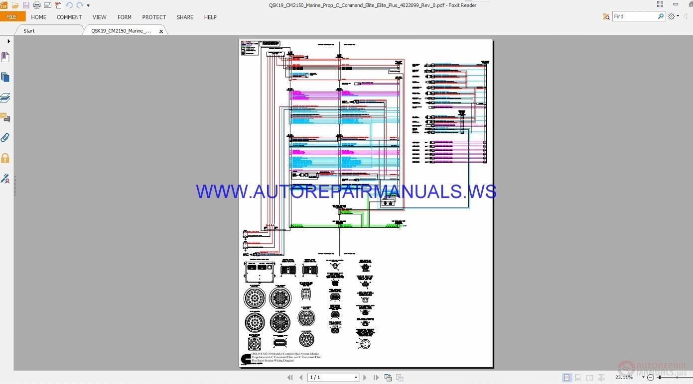 cummins commercial marine wiring diagrams manual auto. Black Bedroom Furniture Sets. Home Design Ideas