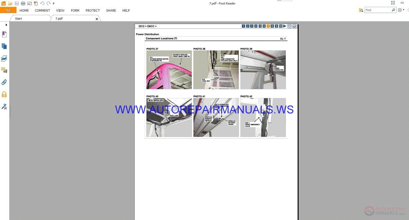 Hyundai D6cc 2012 Workshop Manual Auto Repair Forum Heavy Hd65 Wiring Diagram Img