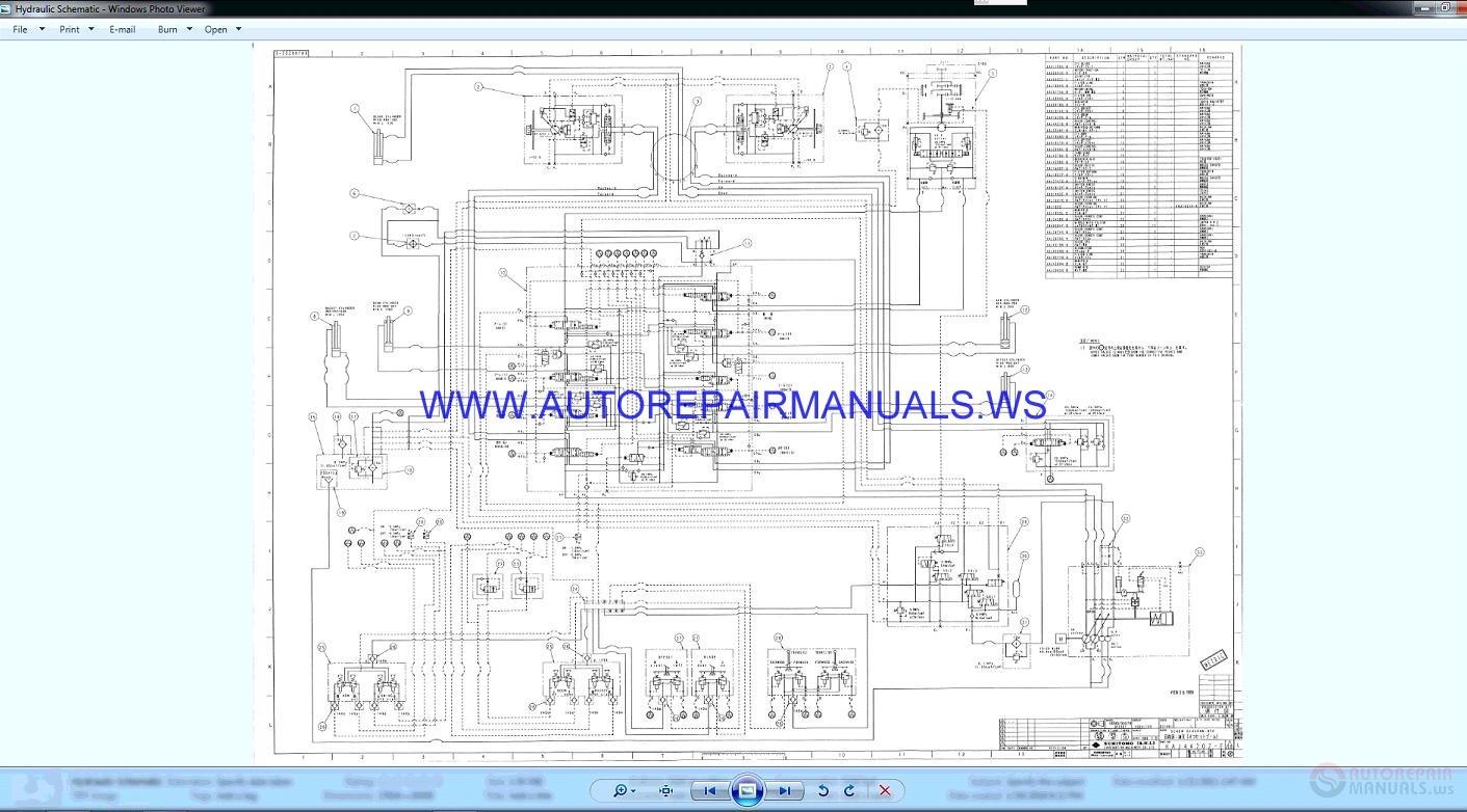 Link Belt 1600q2 Quantum Excavator Schematic Shop Manual Auto Img