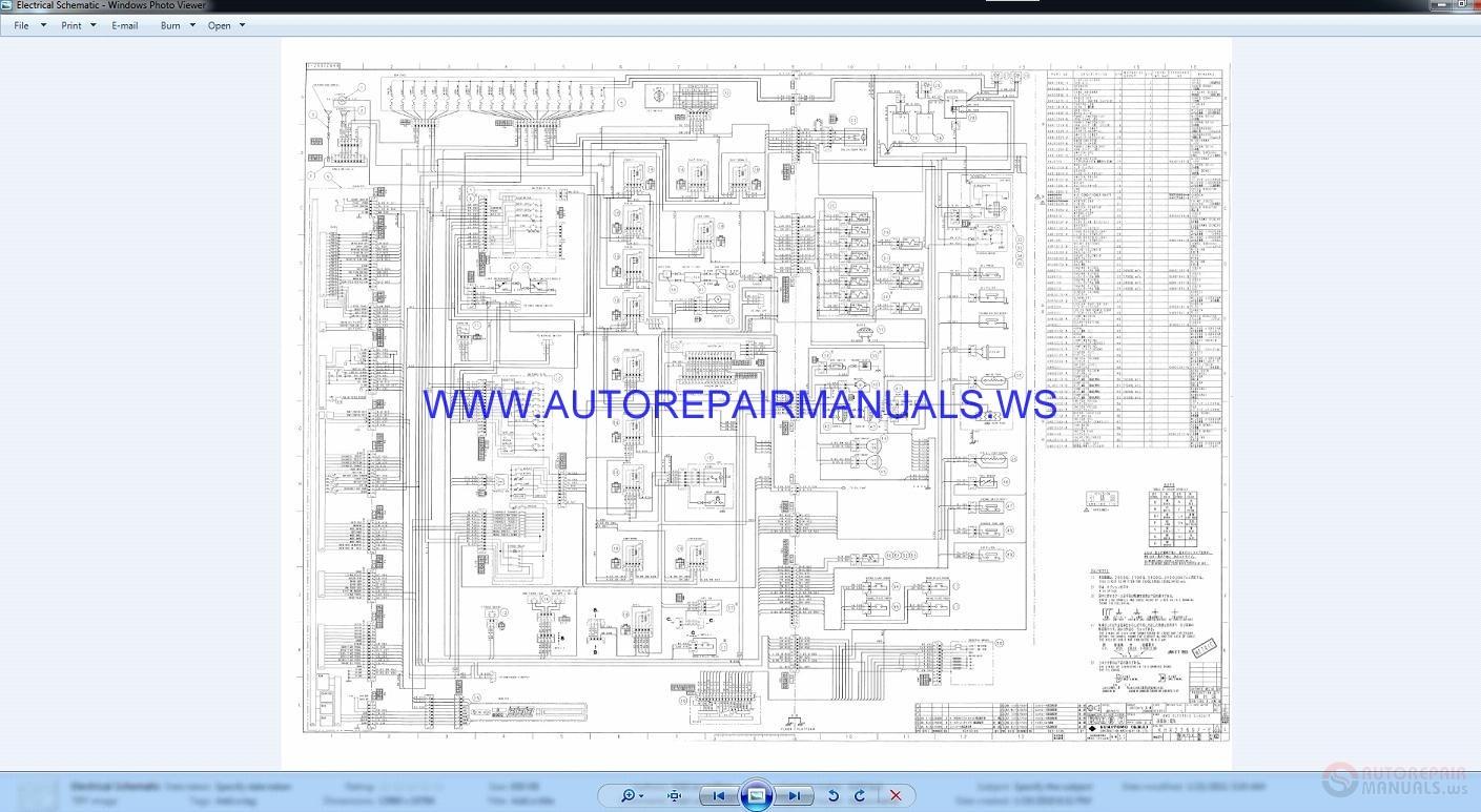 Link Belt 3400 Quantum Excavator Schematic Shop Manual | Auto Repair Manual  Forum - Heavy Equipment Forums - Download Repair & Workshop ManualAuto Repair Manual Forum
