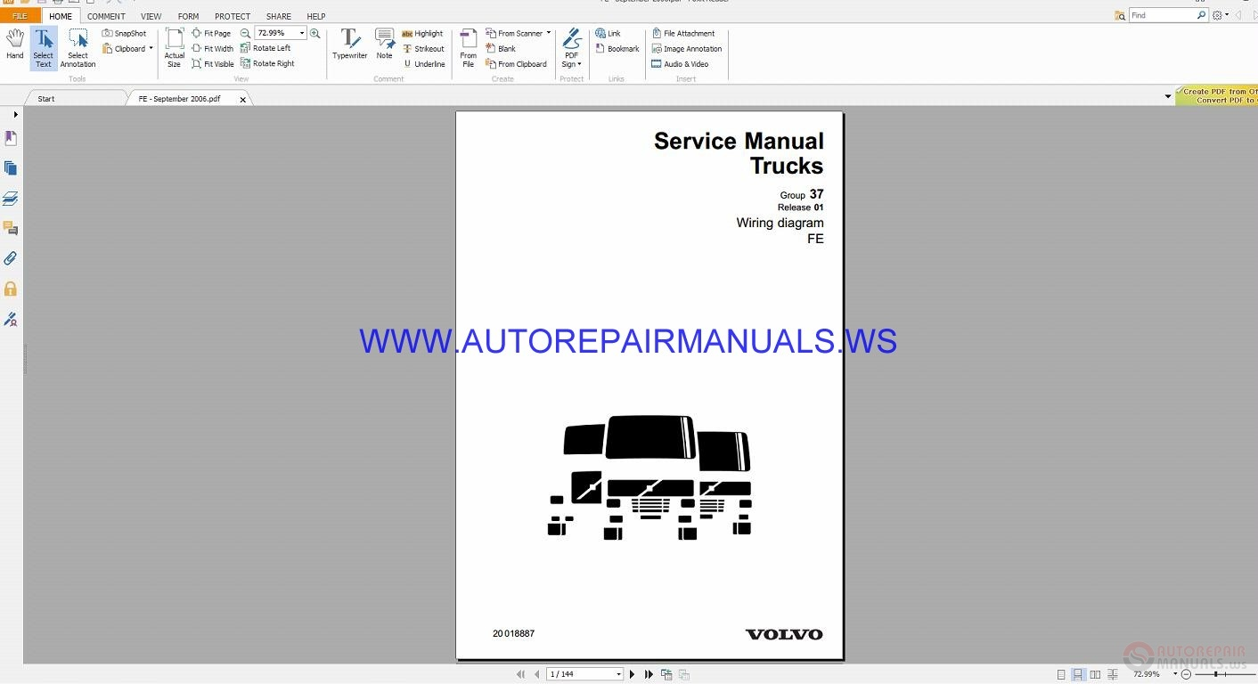 Volvo Bus B7b9b12 Wiring Diagram Auto Repair Manual Forum Heavy Fl6 Diy Enthusiasts Diagrams Equipment Rh 45 77 184 10