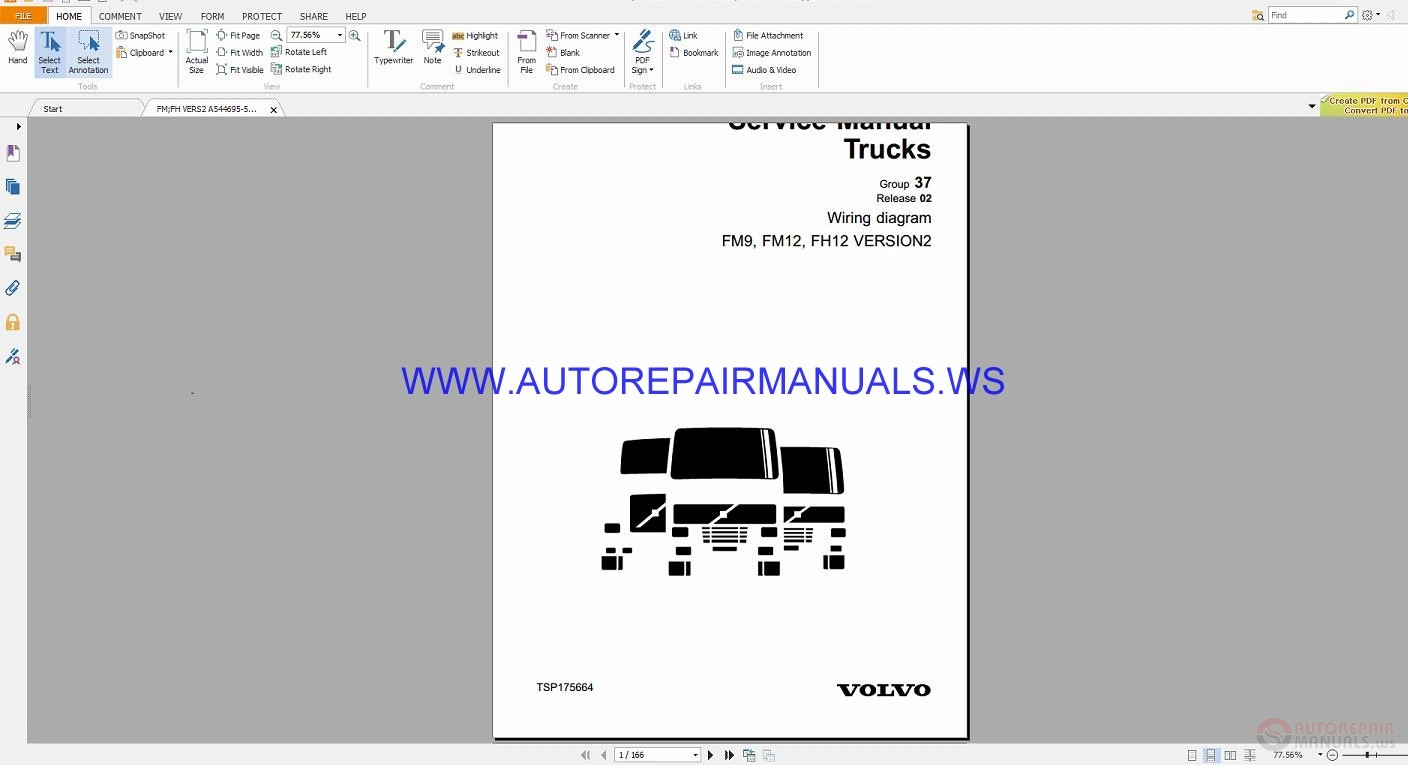Volvo Fm9  Fm12  Fh12 Version2 Trucks Wiring Diagrams