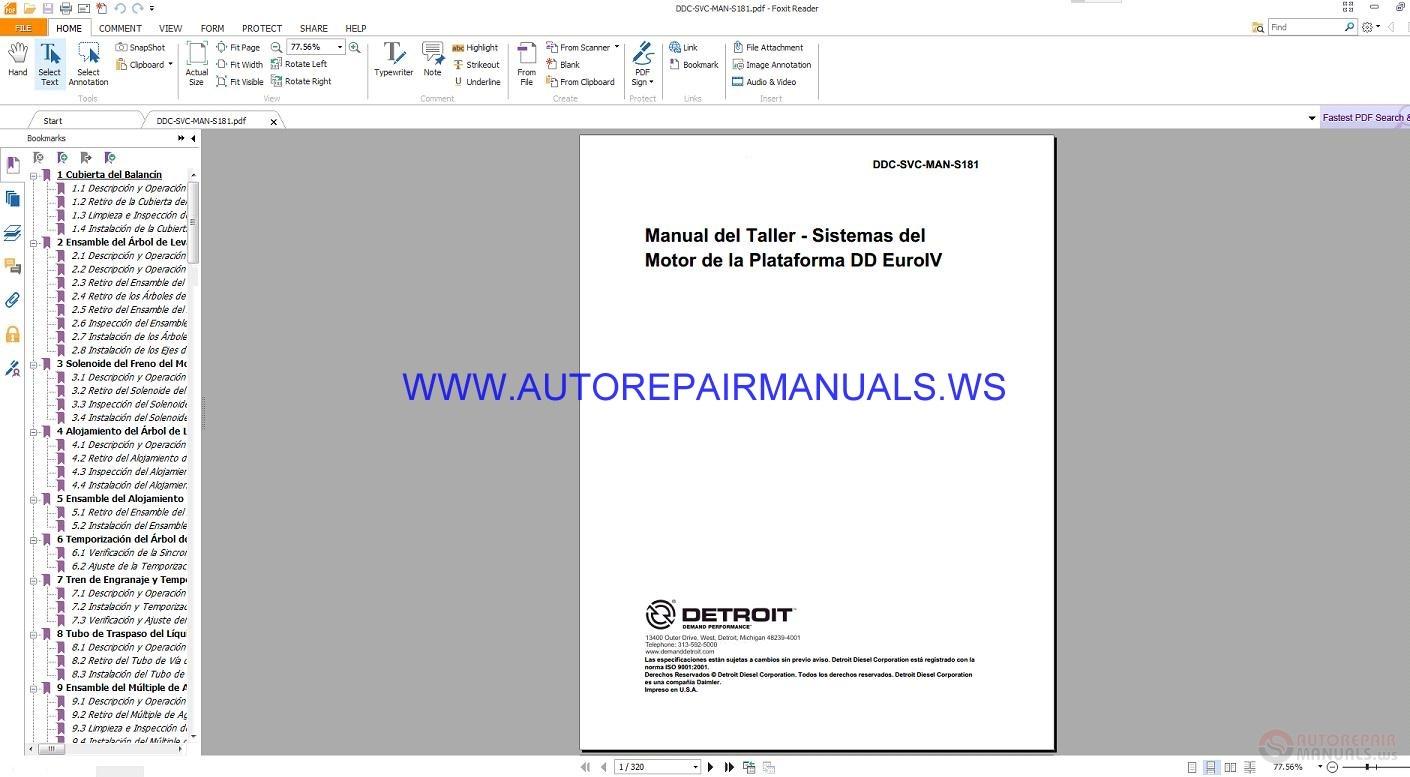 Detroit Diesel Euro IV Platform Engine Systems Workshop