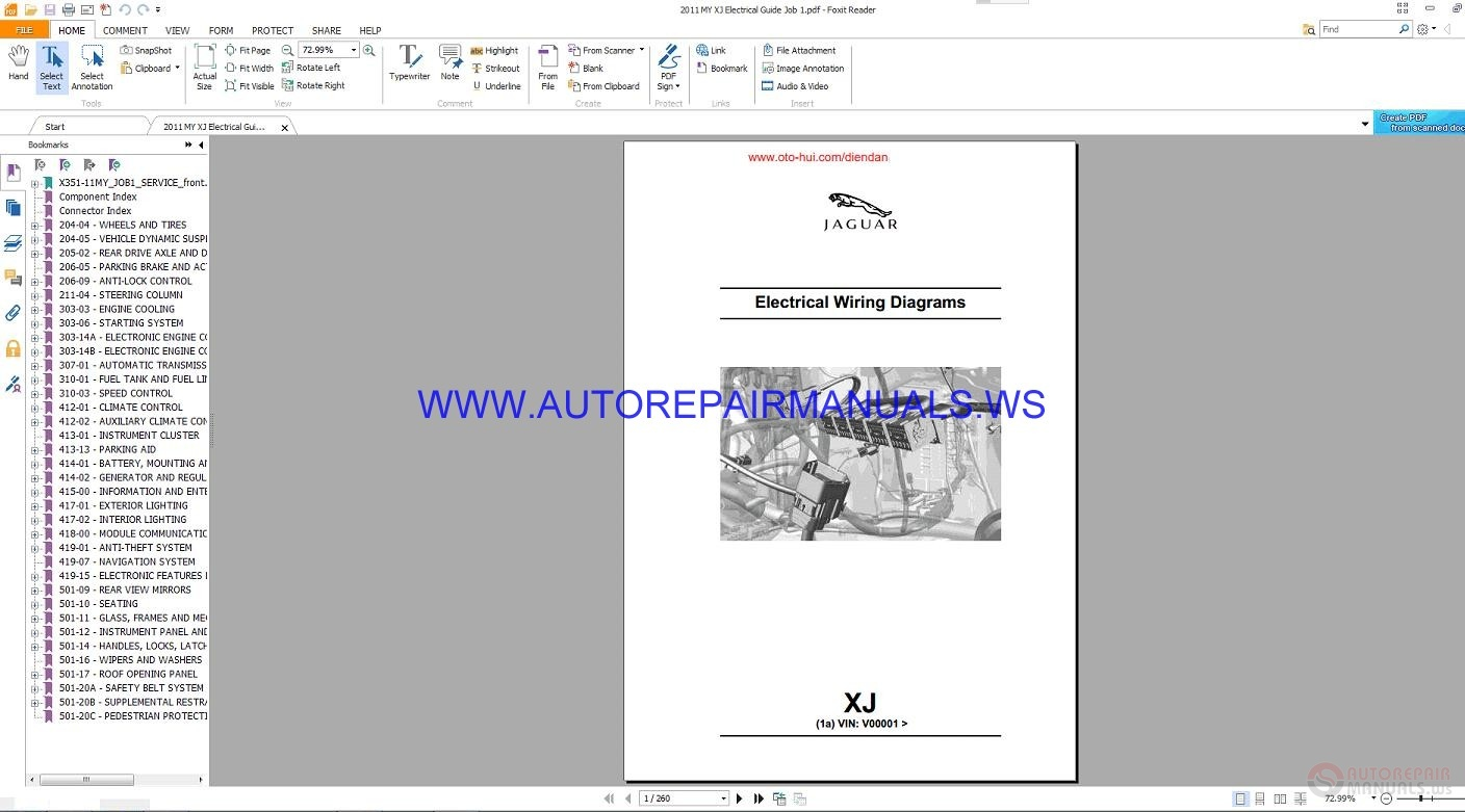 Car Service Manuals Pdf 2011 Jaguar Xj Electronic