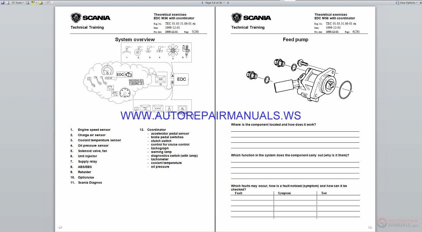 Scania Course Service Training Manual