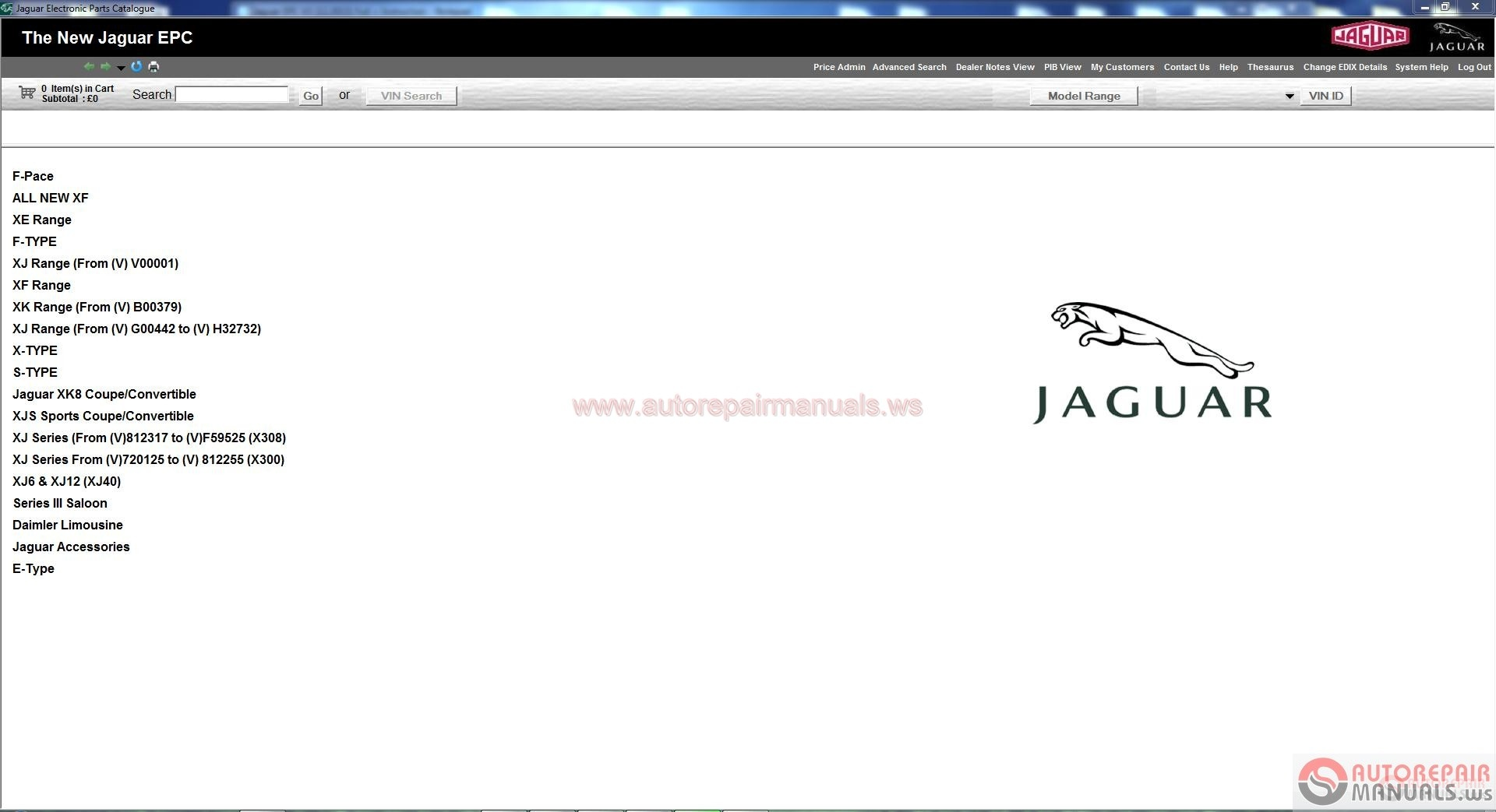 Arm00107 Jaguar Epc Vin 01 2018 Full Instruction Auto Repair Manual Forum Heavy