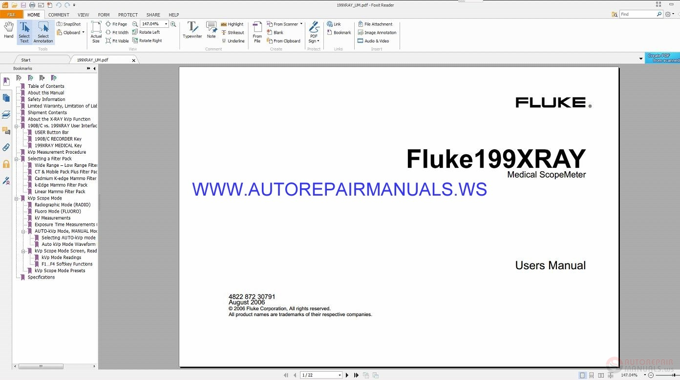 Man Fluke 199xray Users Manual 08