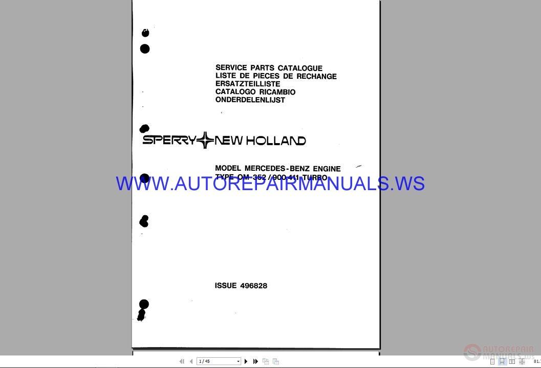 new holland 8870 repair manual