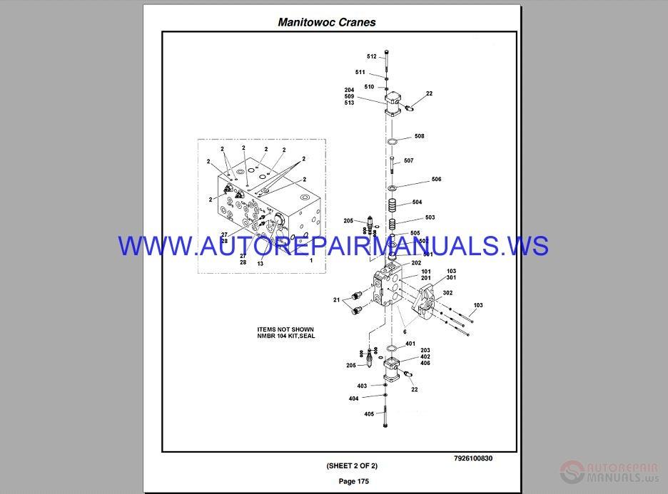 grove crane service manual pdf