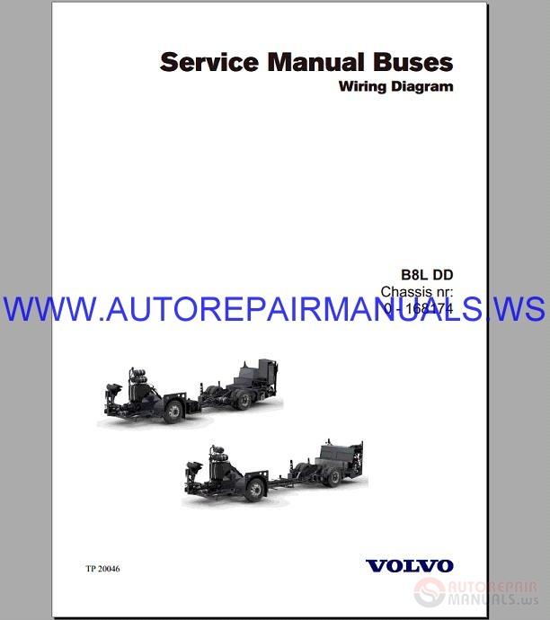 Volvo B8l Wiring Diagram Service Manual Buses