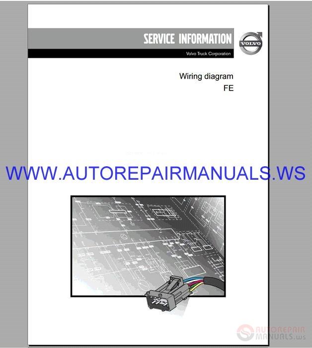 Volvo Fe Trucks Wiring Diagram Service Information Manual