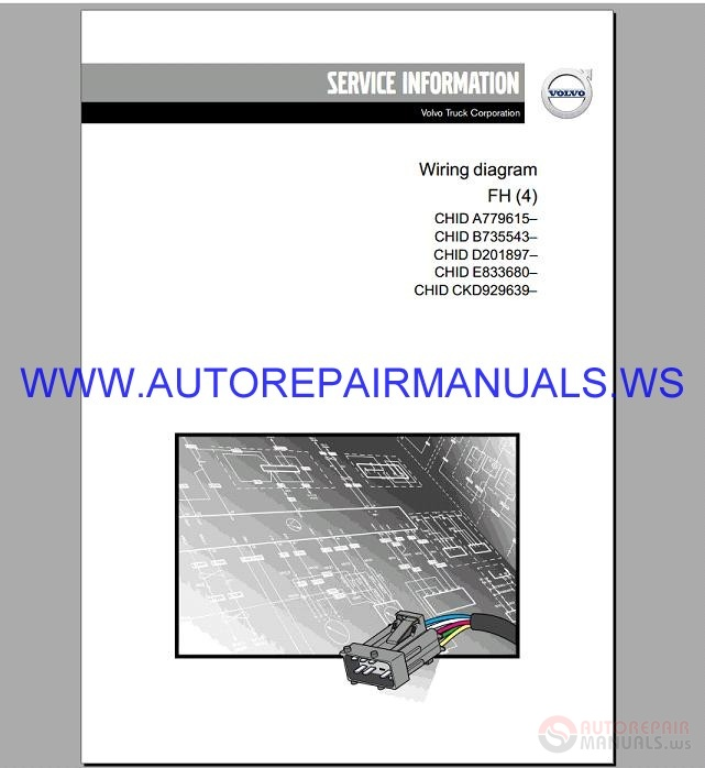 Volvo Fh  4 Trucks Wiring Diagram Service Manual