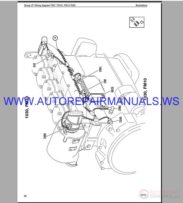 Volvo Fm10 Trucks Wiring Diagram Service Manual