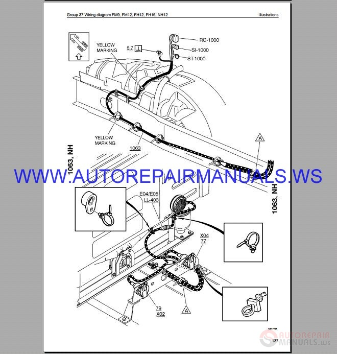 Volvo Fm9 Trucks Wiring Diagram Service Manual