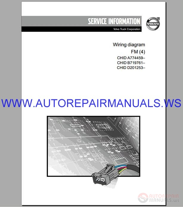 Volvo Fm  4  Trucks Wiring Diagram Service Manual
