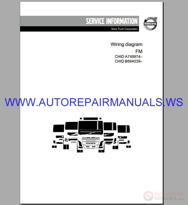 Volvo Fm Trucks Wiring Diagram Service Manual