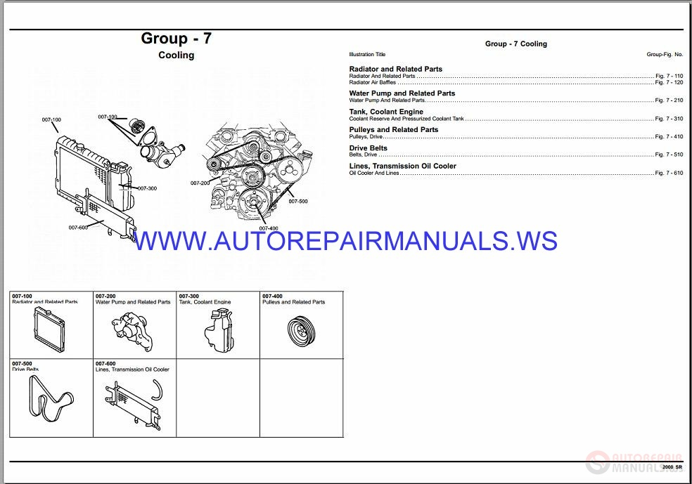 chrysler dodge viper sr parts catalog  part 2  2000