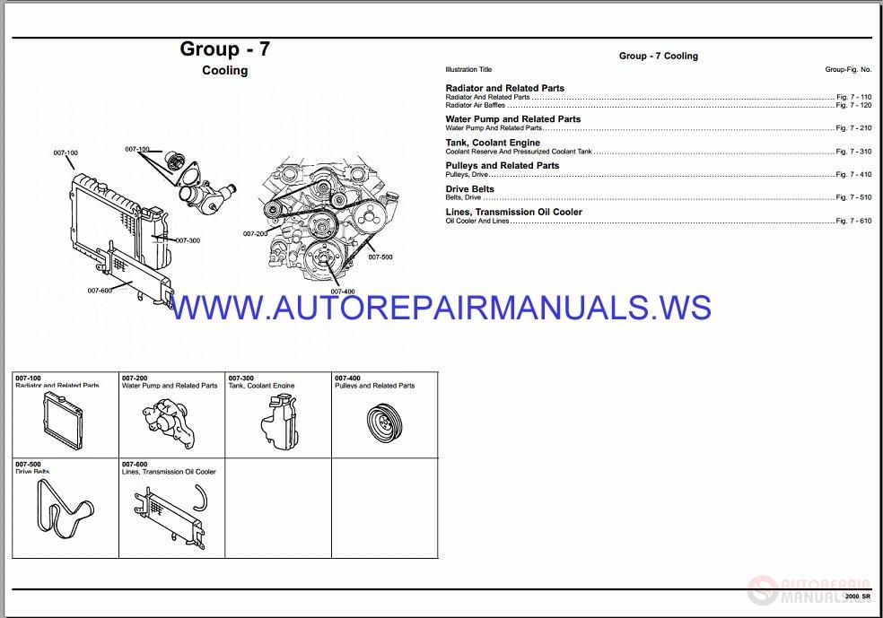 Chrysler Dodge Viper Sr Parts Catalog Part
