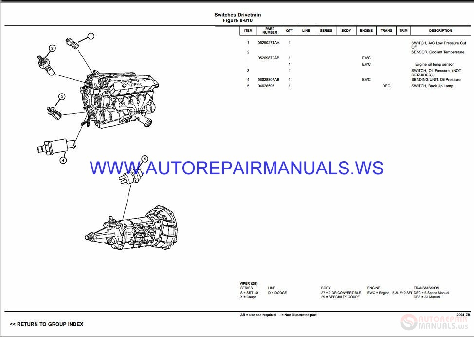 chrysler dodge viper zb parts catalog  part 2  2003 2008 auto repair manual forum heavy chrysler voyager 1999 manual pdf chrysler voyager 1999 owners manual