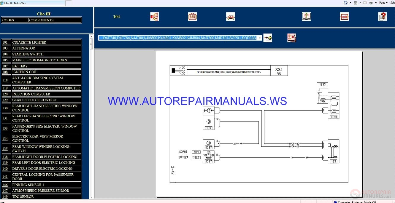 Diagram  Renault Clio Iii Wiring Full Version Hd Quality