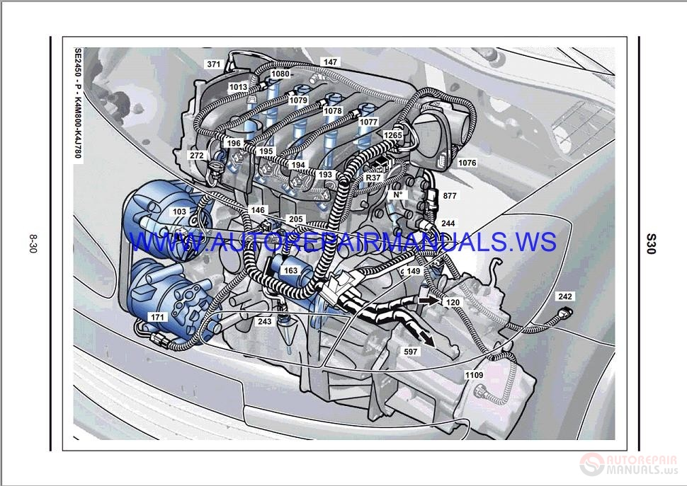 Renault Clio Iii X85 Nt8351 Disk Wiring Diagrams Manual 04
