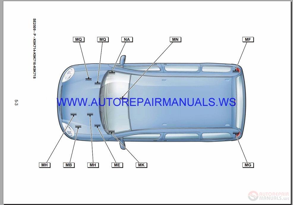 Renault Kangoo X76 Nt8407 Disk Wiring Diagrams Manual 21