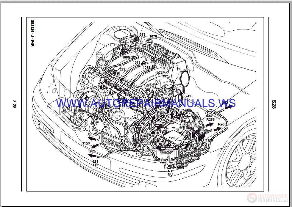 Renault Laguna Ii X74 Nt8272 Disk Wiring Diagrams Manual