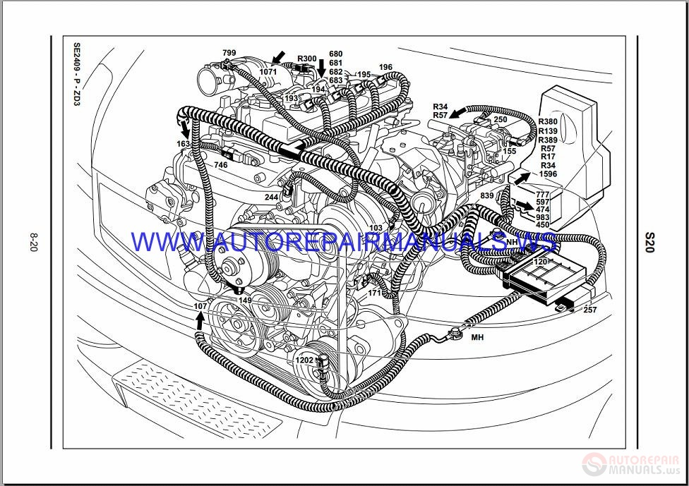 Diagram  Renault Kangoo Workshop Wiring Diagram Full