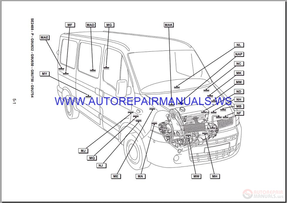Renault Master X70 Nt8736 Disk Wiring Diagrams Manual 19