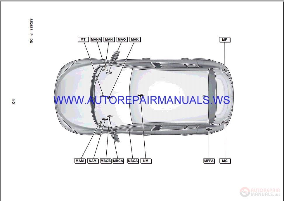 Renault Megane Iii Bd95 Nt8422 Disk Wiring Diagrams Manual 12