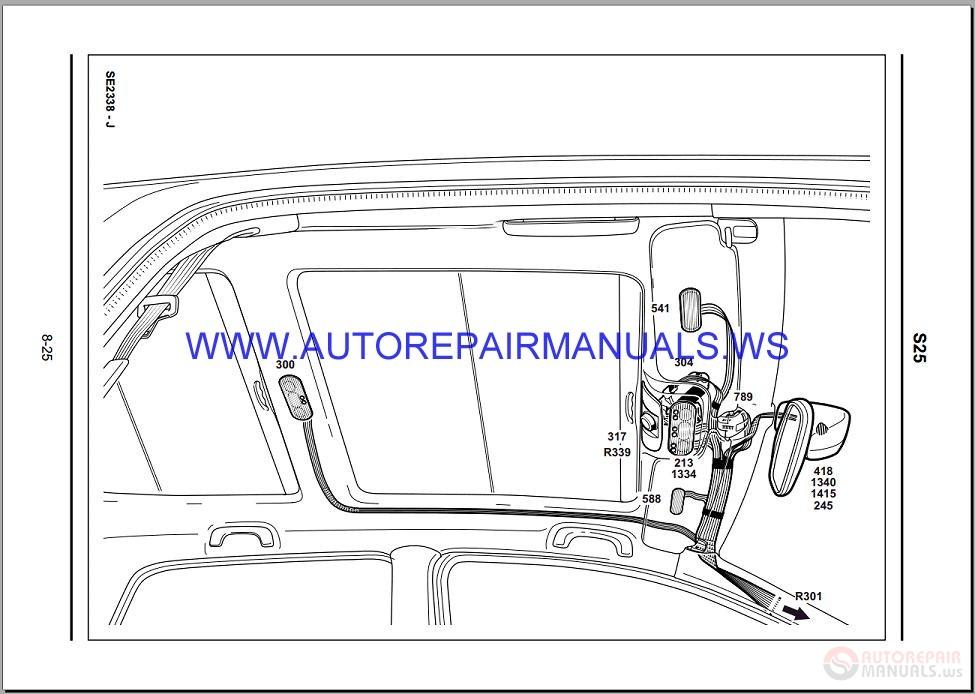 Renault Megane Ii X84 Nt8275 Disk Wiring Diagrams Manual 03