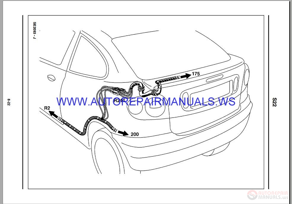Renault Megane X642 Nt8179a Disk Wiring Diagrams Manual 10