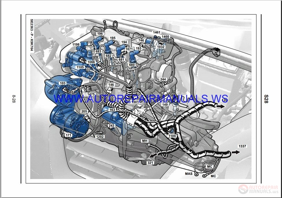 Renault Modus J77 Nt8295 Disk Wiring Diagrams Manual 11