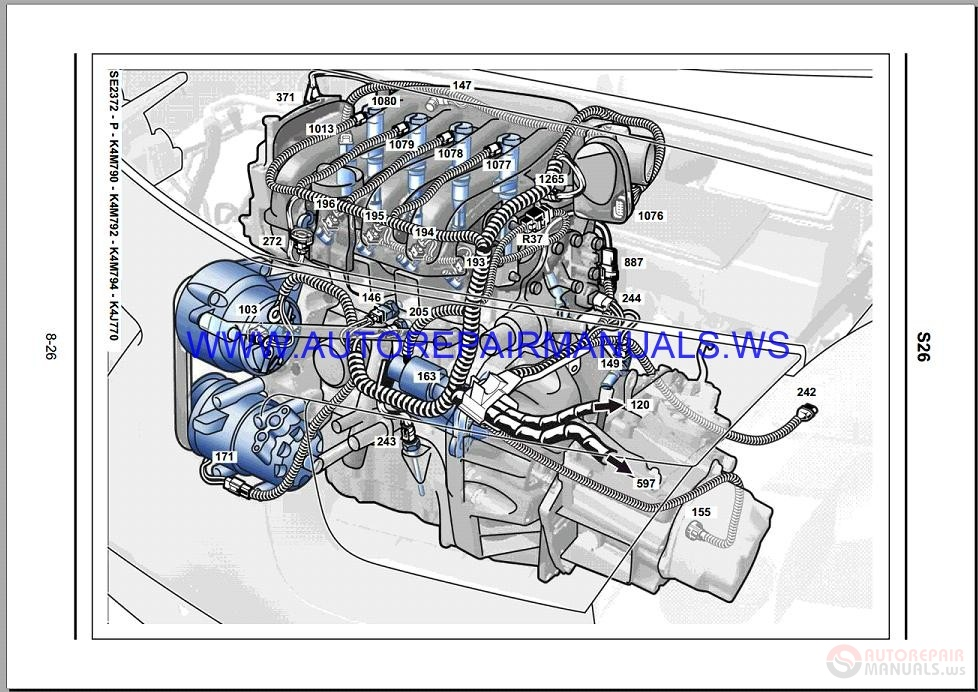 Renault Modus J77 Nt8296 Disk Wiring Diagrams Manual 17